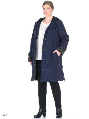 Пальто Нелли VIKO. Цвет: синий