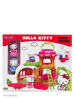 Набор Домик-башмачок Hello Kitty. Цвет: красный, белый