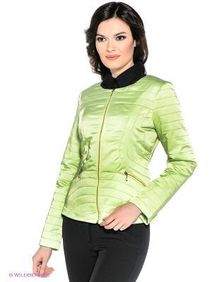 Куртка Personage. Цвет: салатовый