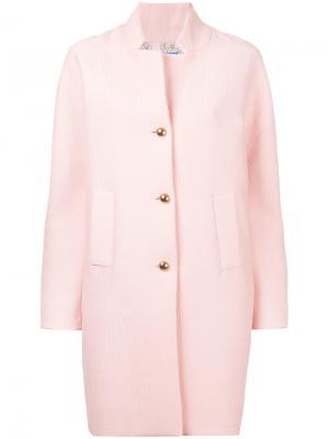 Пальто Loyal Love Macgraw. Цвет: розовый и фиолетовый