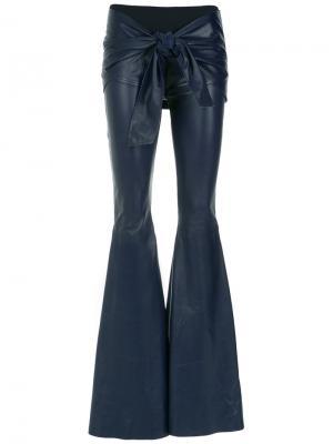 Wide leg trousers Andrea Bogosian. Цвет: синий