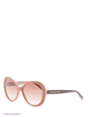 Солнцезащитные очки Enni Marco. Цвет: бежевый