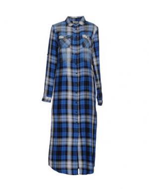 Платье длиной 3/4 !M?ERFECT. Цвет: синий