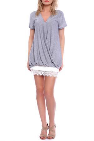 T-shirt Emma Monti. Цвет: grey