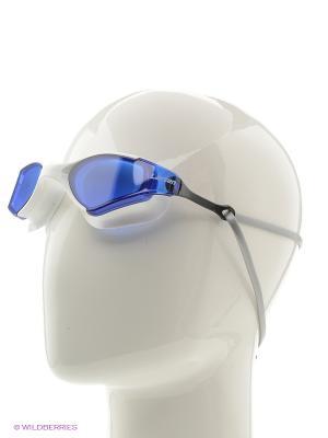Очки плавательные S53 Larsen. Цвет: белый, синий