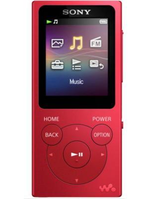 Плеер Flash Sony NW-E394 8Gb красный/1.77/FM. Цвет: красный