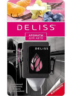 Мембранный освежитель воздуха для автомобиля Deliss. Цвет: бордовый