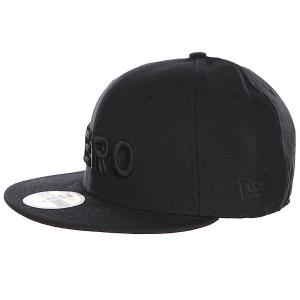 Бейсболка New Era  Army Black Zero. Цвет: черный