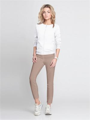 Куртка PRIO. Цвет: белый