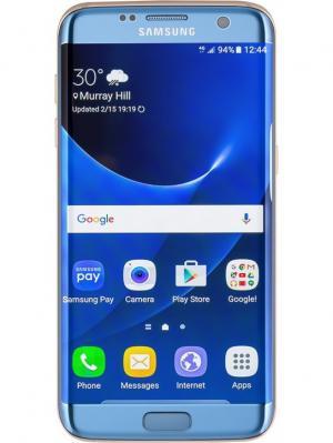 Смартфон Samsung Galaxy S7 Edge. Цвет: серебристый