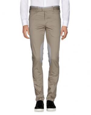 Повседневные брюки GIULIANO FUJIWARA. Цвет: серый