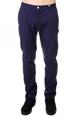 Штаны прямые  Chino Patriot Blue CLWR. Цвет: синий