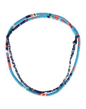 Ожерелье MIKIA. Цвет: синий