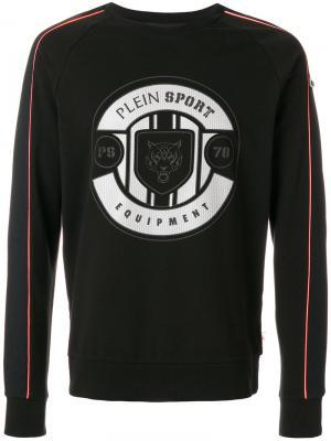 Printed sweatshirt Plein Sport. Цвет: чёрный