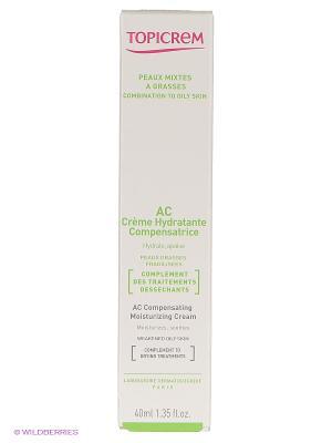 Крем компенсирующий, увлажняющий 40 мл TOPICREM. Цвет: белый