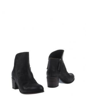 Полусапоги и высокие ботинки GAIA D'ESTE. Цвет: стальной серый