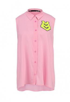 Блуза Love Moschino. Цвет: розовый