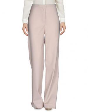 Повседневные брюки THE ROW. Цвет: бежевый