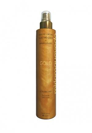 Золотой спрей-лосьон Miriam Quevedo. Цвет: золотой