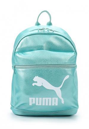 Рюкзак PUMA. Цвет: бирюзовый