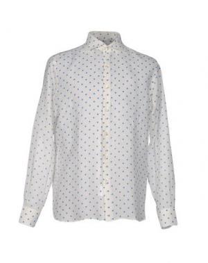Pубашка DOMENICO TAGLIENTE. Цвет: пастельно-синий