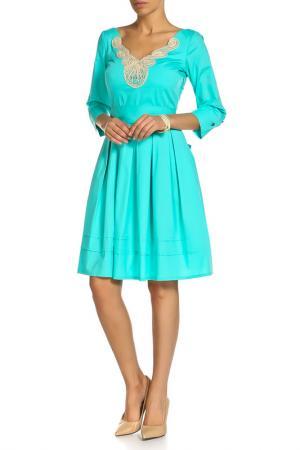 Платье Beatrice. B. Цвет: зеленый