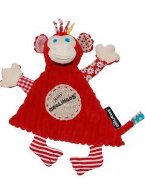 Игрушка Deglingos Обезьянка Bogos - Baby. Цвет: красный
