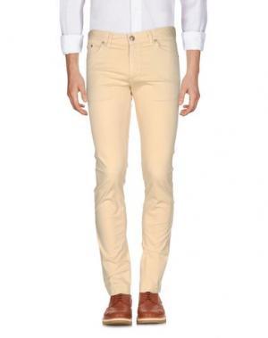 Повседневные брюки ALV ANDARE LONTANO VIAGGIANDO. Цвет: светло-желтый