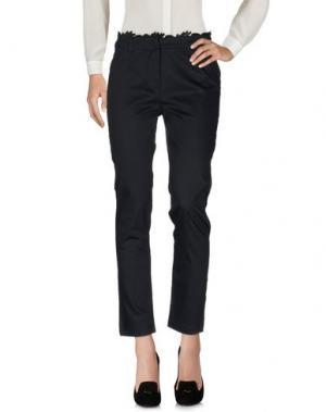 Повседневные брюки ROBERTA SCARPA. Цвет: темно-синий