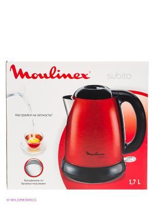 Чайник BY540532 1.5л. 2200Вт Moulinex. Цвет: красный
