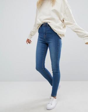 Waven Зауженные джинсы Anika. Цвет: синий