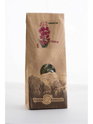 Чай зеленый с иван-чаем Травы Кавказа. Цвет: бежевый