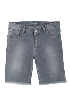 Джинсовые шорты Lars Bonpoint. Цвет: серый