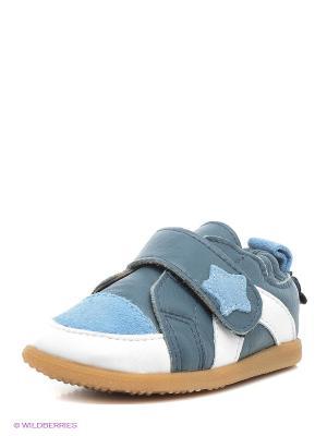 Ботинки Shooshoos. Цвет: голубой