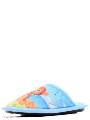 Тапочки BRIS. Цвет: голубой