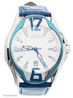 Часы Chronotech. Цвет: синий, серебристый