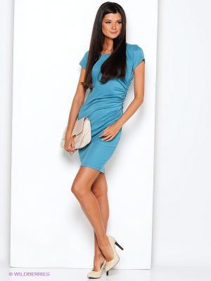 Платье Alina Assi. Цвет: бирюзовый