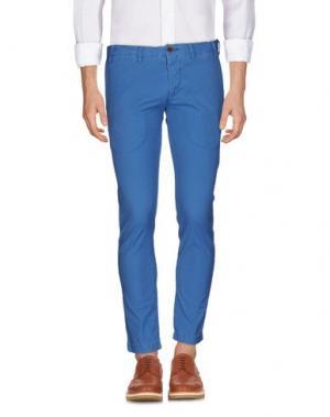 Повседневные брюки ALV ANDARE LONTANO VIAGGIANDO. Цвет: лазурный
