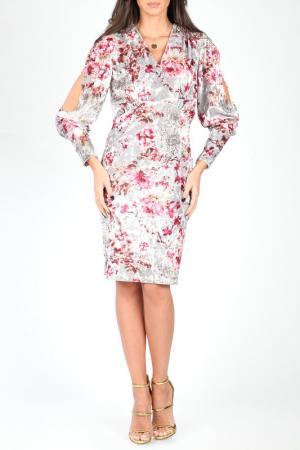 Платье CARLA BY ROZARANCIO. Цвет: мультицвет