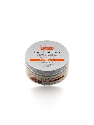 Масло для рук и ногтей с маслом мандарина кератином MANDARIN MILLA HALAL COSMETICS. Цвет: белый