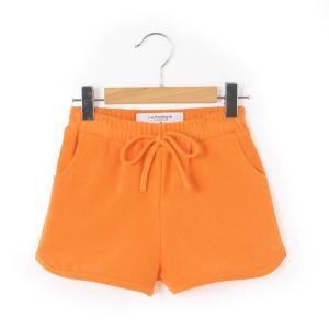 Шорты для девочки La Redoute Collections. Цвет: оранжевый