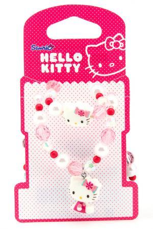 Набор бижутерии Hello Kitty. Цвет: розовый