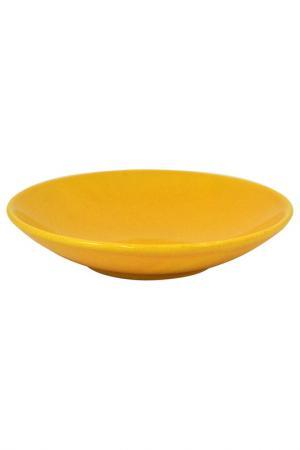 Тарелка Waechtersbacher. Цвет: желтый