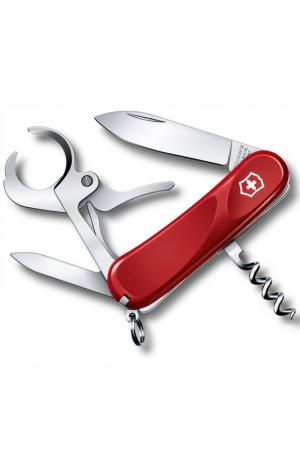 Нож перочинный 8 функций Victorinox. Цвет: красный