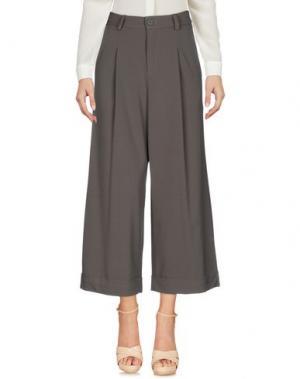 Повседневные брюки BERNA. Цвет: зеленый-милитари