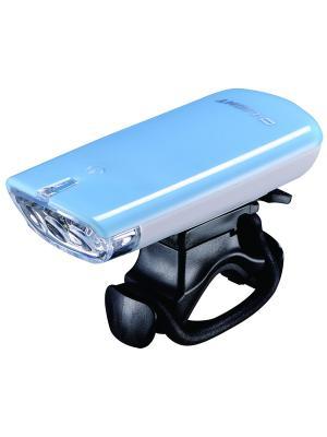Фара с тремя белыми светодиодами D-light. Цвет: голубой