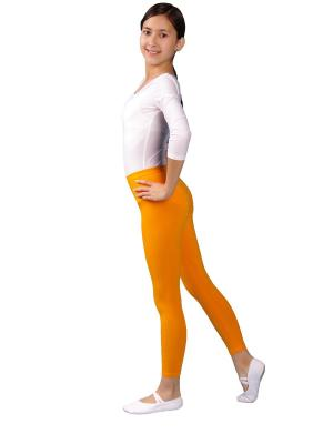 Леггинсы ALIERA. Цвет: оранжевый