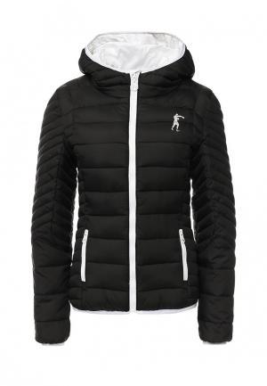 Куртка утепленная Boxeur Des Rues. Цвет: черный