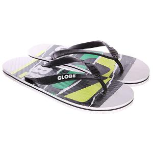 Шлепанцы Globe N Rip White/Green 1118894