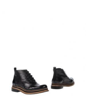 Полусапоги и высокие ботинки ZINDA. Цвет: черный